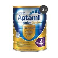 Aptamil 澳洲爱他美 婴幼儿奶粉 4段 900g*3罐