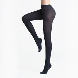 InteRight 女士竖条发热连裤袜 1双装 *2件