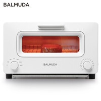BALMUDA 巴慕达 K01H-WS 日本蒸汽电烤箱 白色