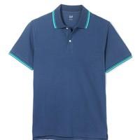 Gap 盖璞 000436781 男子短袖Polo衫