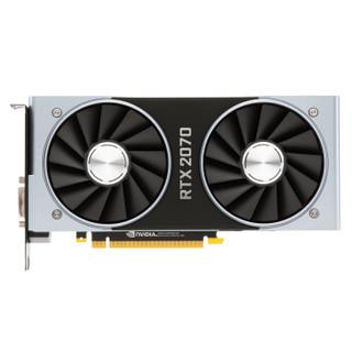 NVIDIA 英伟达 GeForce RTX 2070 Founders Edition 显卡