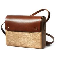 Haydanhuya Tree man 手工制造橡木钱包手包挎包装饰大号 土耳其