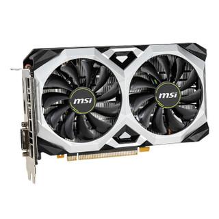 MSI 微星 万图师 GeForce GTX 1660 VENTUS XS C 6G OCV1 显卡 6GB
