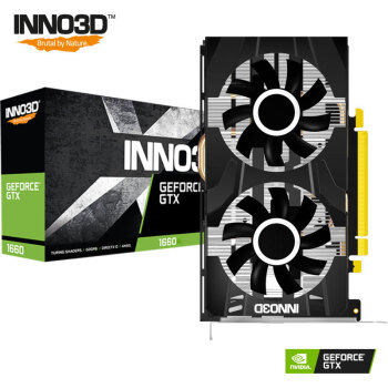 Inno 3D 映众 黑金至尊版 GTX 1660显卡 (6GB)