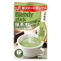 临期品:AGF Blendy宇治抹茶拿铁速溶咖啡粉 84g