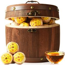 柠檬菊木桶装500g 柠檬红茶