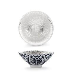 内镶银陶瓷功夫茶杯主人杯-福