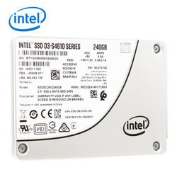 英特尔(Intel)S4610系列 240GB SATA3 固态硬盘 企业级