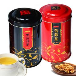 人人仁 苦荞茶黑珍珠黑苦荞茶 260g 230g *2件