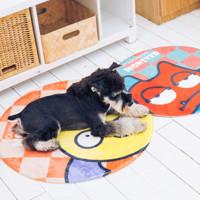 Touchdog 它它 宠物小怪兽毛绒地垫 70cm