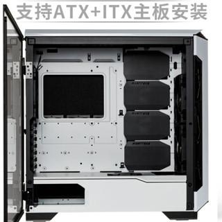 PHANTEKS 追风者 PH-EC600PSTG_WT01 冰河白 主动降噪水冷静音电脑机箱