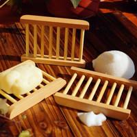 Neyankex 日式木质香皂盒 *4