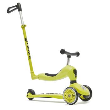 COOGHI 酷骑 V3三合一 平衡车 (柠檬黄)
