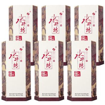 swellfun 水井坊 臻酿八號 白酒 (箱装、浓香型、38度、500ml*6瓶)