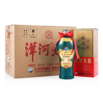 YANGHE 洋河 白酒 (箱装、浓香型、55%vol、500ml*6瓶)