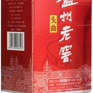 LU ZHOU LAO JIAO 泸州老窖 头曲 白酒 (瓶装、浓香型、52度、165ml)