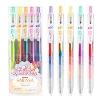 凑单品:ZEBRA 斑马 JJ75 不可思议中性笔 0.5mm 单支装 5色可选