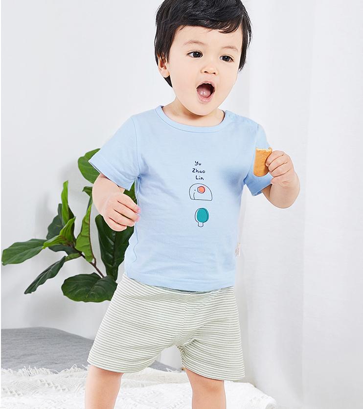 YUZHAOLIN 俞兆林 儿童短袖套装