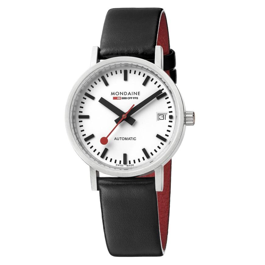 MONDAINE 瑞士国铁 A128-30008-16SBB 中性自动机械手表