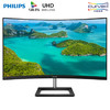 PHILIPS 飞利浦 328E1CA 31.5英寸4K曲面显示器 120.5%sRGB 2799元