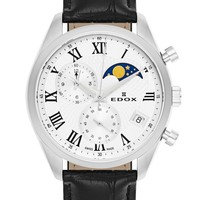 EDOX 依度 Les Vauberts系列 01655-3-ARN 男士时装腕表