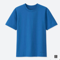 UNIQLO 优衣库 AIRism 415920  男士T恤 (175/100、蓝色)
