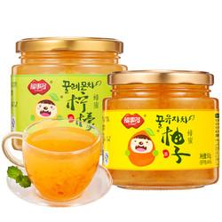 福事多 蜂蜜柚子柠檬茶 1Kg