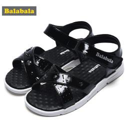 巴拉巴拉童鞋女童防滑单鞋中大童夏季时尚凉鞋儿童公主鞋子休闲夏