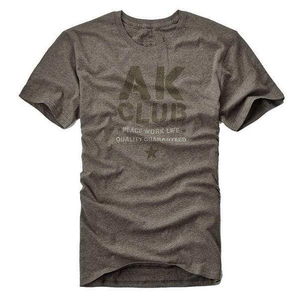 AK CLUB AK男装 1900331 男士字母印花T恤 权游詹姆同款