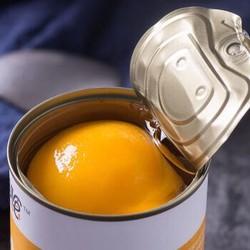 快挑食 糖水黄桃罐头 速食新鲜水果罐头 425克x6罐