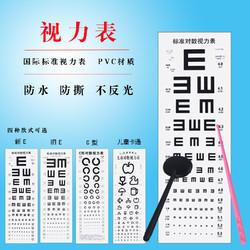 爽健 标准视力表挂图