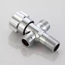 SKWLOCH 斯沃奇 PJ5009 全铜双用两出水角阀 *3件