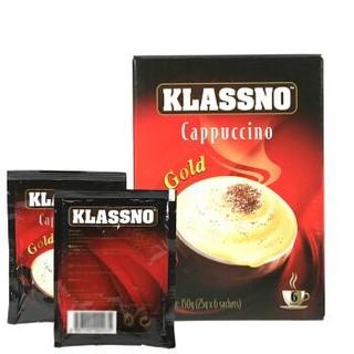 马来西亚进口 卡司诺(Klassno)即溶咖啡金装(固体饮料)150g *25件