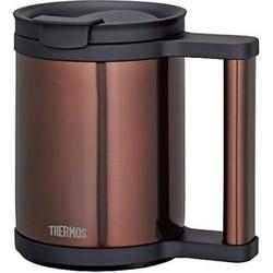 膳魔师(THERMOS)JCP-280C CBW 真空断热保温保冷马克杯咖啡杯茶杯 棕色 280毫升