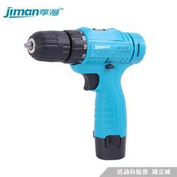 季漫JIMAN手动工具套装 家用多功能电工 木工 维修充电式电动工具箱 季漫12V单速(一电一充)