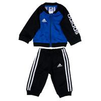 值友专享:adidas 阿迪达斯 Shiny Hoody 婴幼儿男童套装 *3件