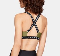 UNDERARMOUR 安德玛 Wordmark Strappy Solid 运动内衣