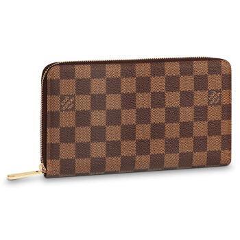 LOUIS VUITTON 路易威登 ZIPPY ORGANIZER 长款拉链钱夹 ( N63502、棕色棋盘格)