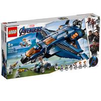 百亿补贴:LEGO 乐高 漫威超级英雄系列 76126 昆式战斗机 美版