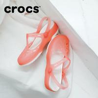 双11预售Crocs卡骆驰凉鞋女 洞洞鞋平底鞋鞋子沙滩女鞋|202455