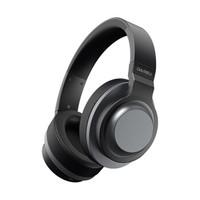 达尔优(dareu) EH765B 耳机 耳麦 无线耳机 蓝牙耳机 电脑耳机 耳机头戴式 头戴式耳机 黑色