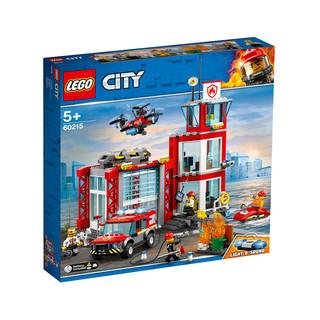 88VIP :  LEGO 乐高 City 城市系列 60215 城市消防局