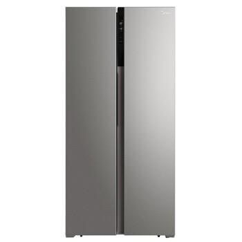 美的(Midea)452升 对开门双门冰箱家用双变频风冷无霜保鲜智能冷藏冷冻节能省电 BCD-452WKPZM(E)