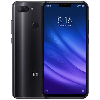 MI 小米 8 青春版 镜面渐变AI全面屏拍照游戏智能手机 (全网通、4GB、128GB、深空灰)