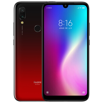Redmi 红米 7 智能手机 (4GB、64GB、全网通、魅夜红)