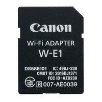 佳能(Canon)Wi-Fi适配器 W-E1 对应产品:EOS 5DS / 5DS R / 7D Mark II