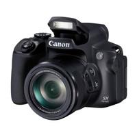 Canon 佳能 PowerShot SX70 HS 数码相机 (黑色、21-1365mm、2030万像素、1/2.3英寸)