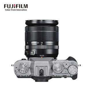 FUJIFILM 富士 XT30 单电相机 (银色、套机、18-55mm、F2.8-4、2610万像素、APS-C)