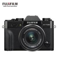 FUJIFILM 富士 XT30 单电相机 (黑色、套机、2610万像素、APS-C)