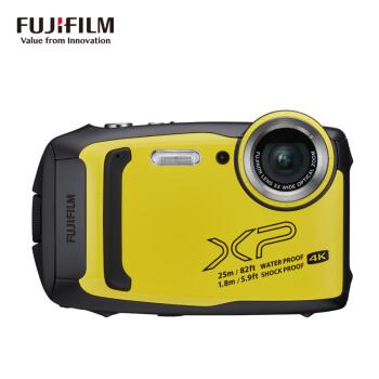 FUJIFILM 富士 XP-140 数码相机 (黄色、1640万像素、1/2.3英寸)